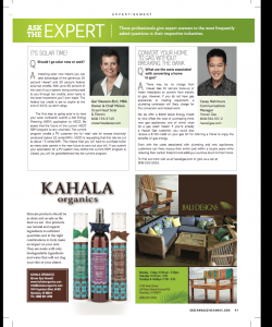 Green MagazineGreen Spa Hawaii